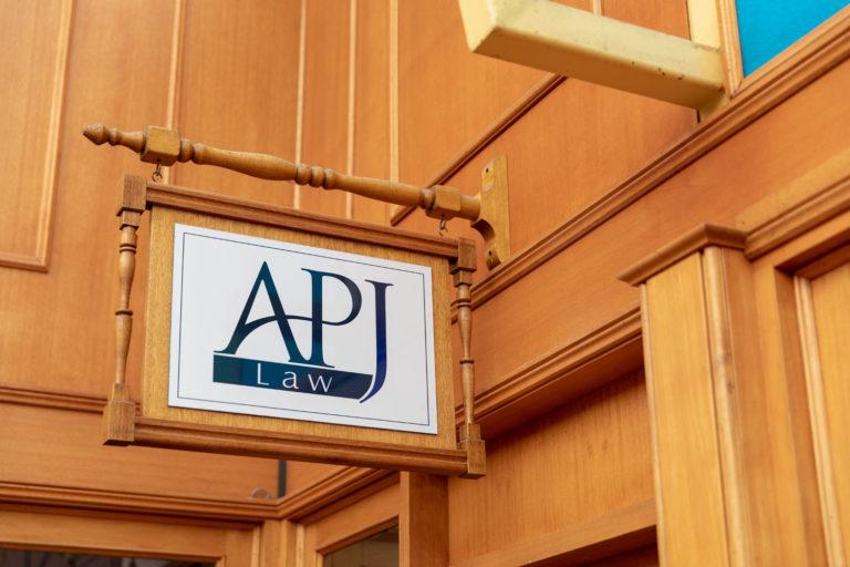 APJ Law office front